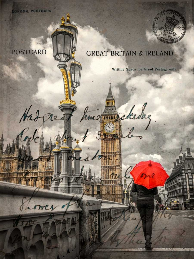 Tourist with an umbrella on Westminster Bridge, London, UK Frank, Assaf 104003
