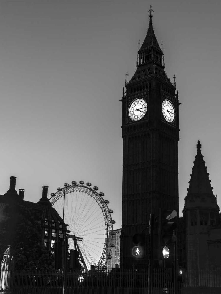 View of Big Ben from street, London, UK Frank, Assaf 104050