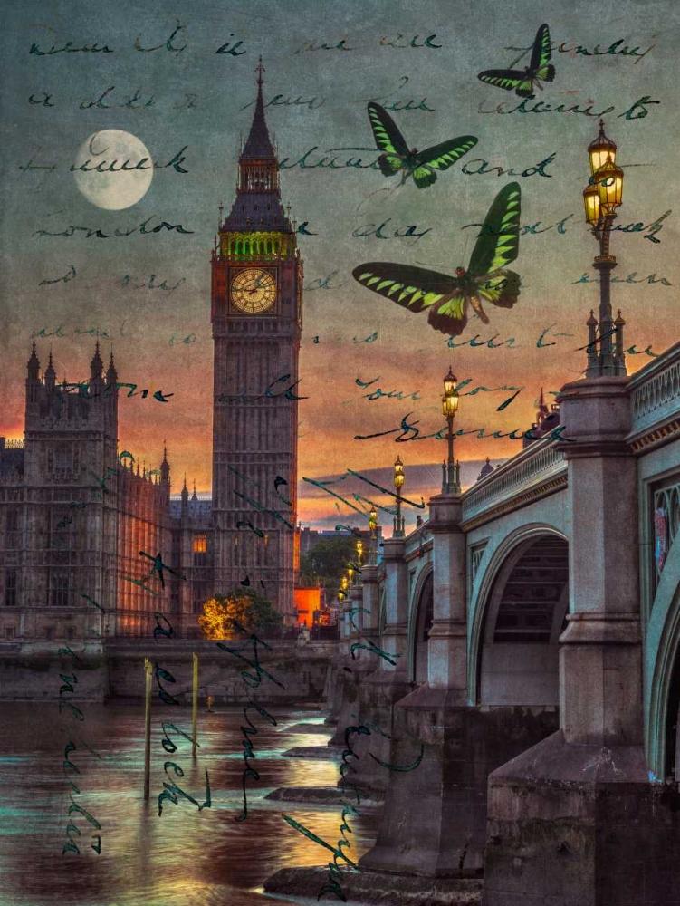 Westminster bridge and Big Ben from Thames promenade, London, UK Frank, Assaf 104076
