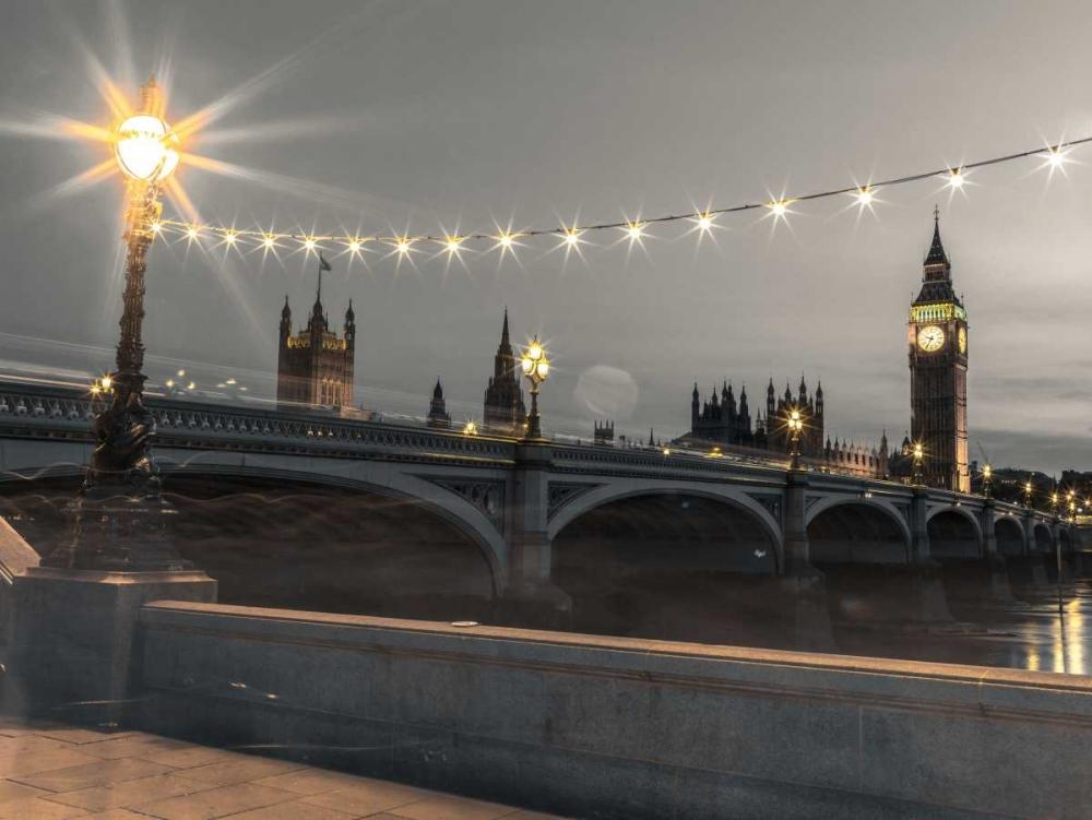 Westminster bridge and Big Ben from Thames promenade, London, UK Frank, Assaf 104080