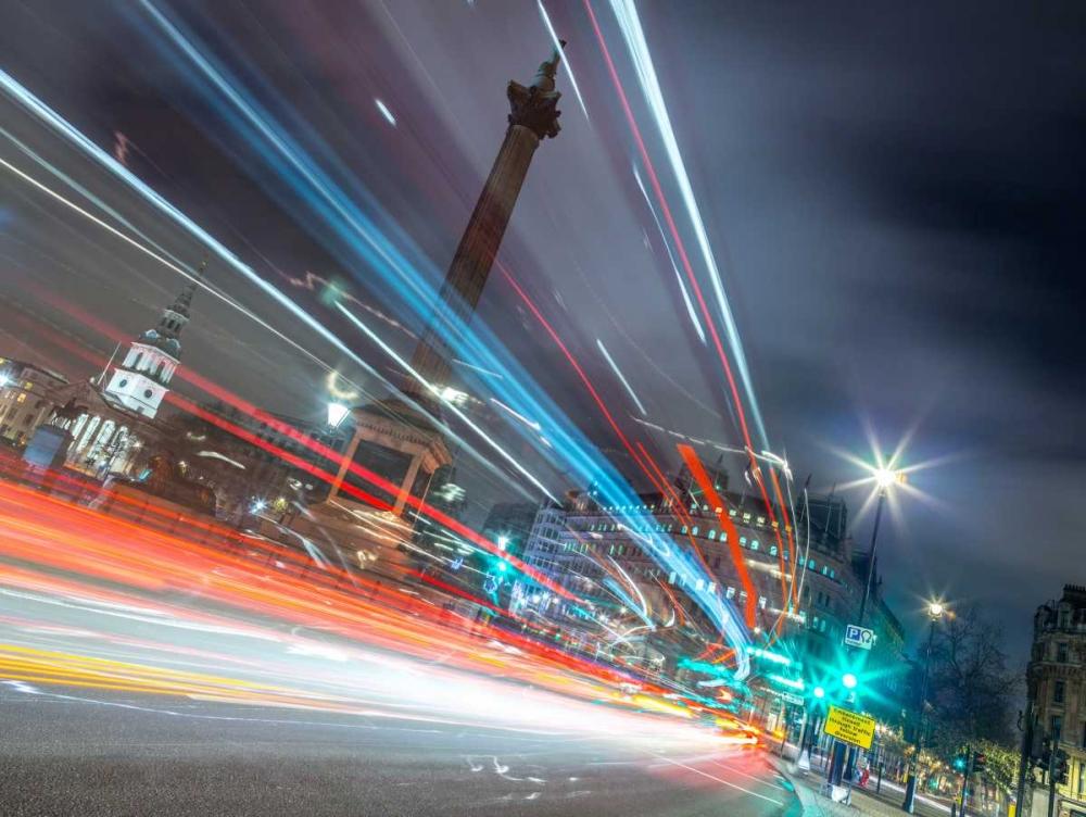 London city street with strip lights Frank, Assaf 104137
