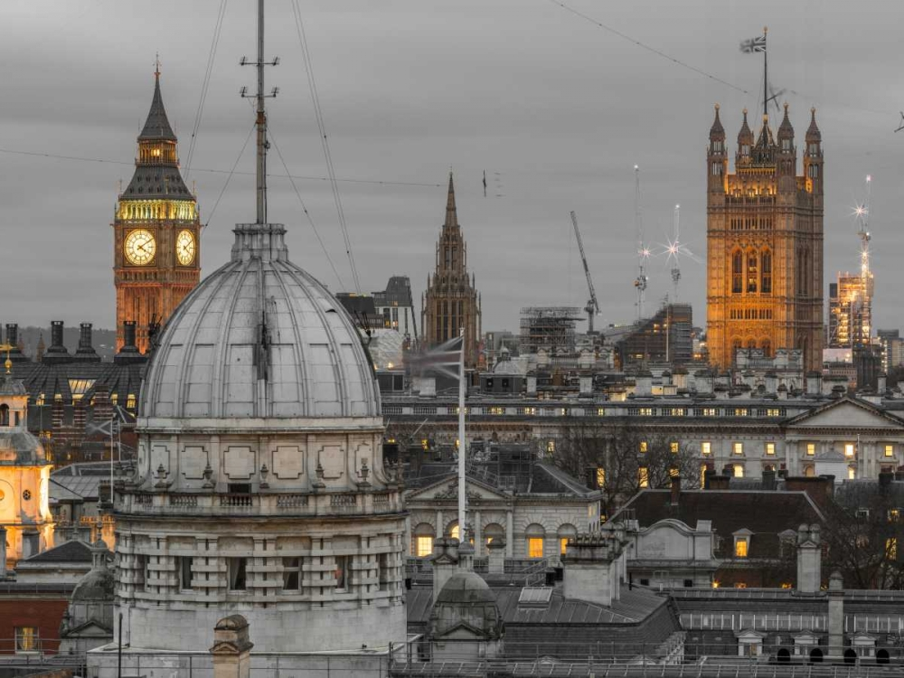 London cityscape with Big Ben and Westminster Abby Frank, Assaf 104139