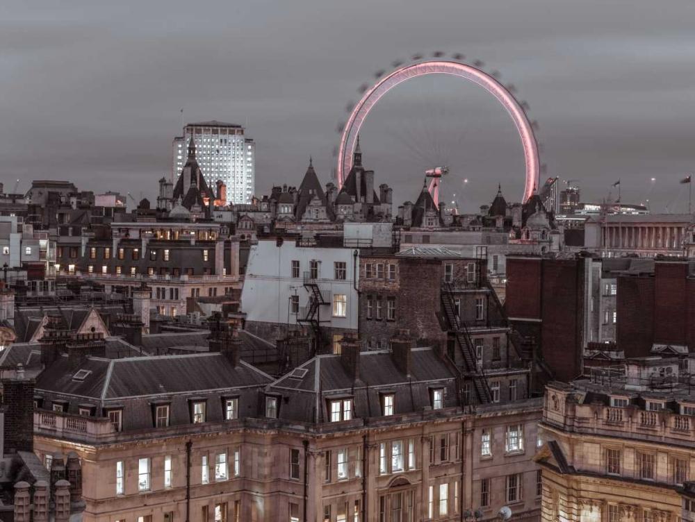 London cityscape with Millennium Wheel Frank, Assaf 104141