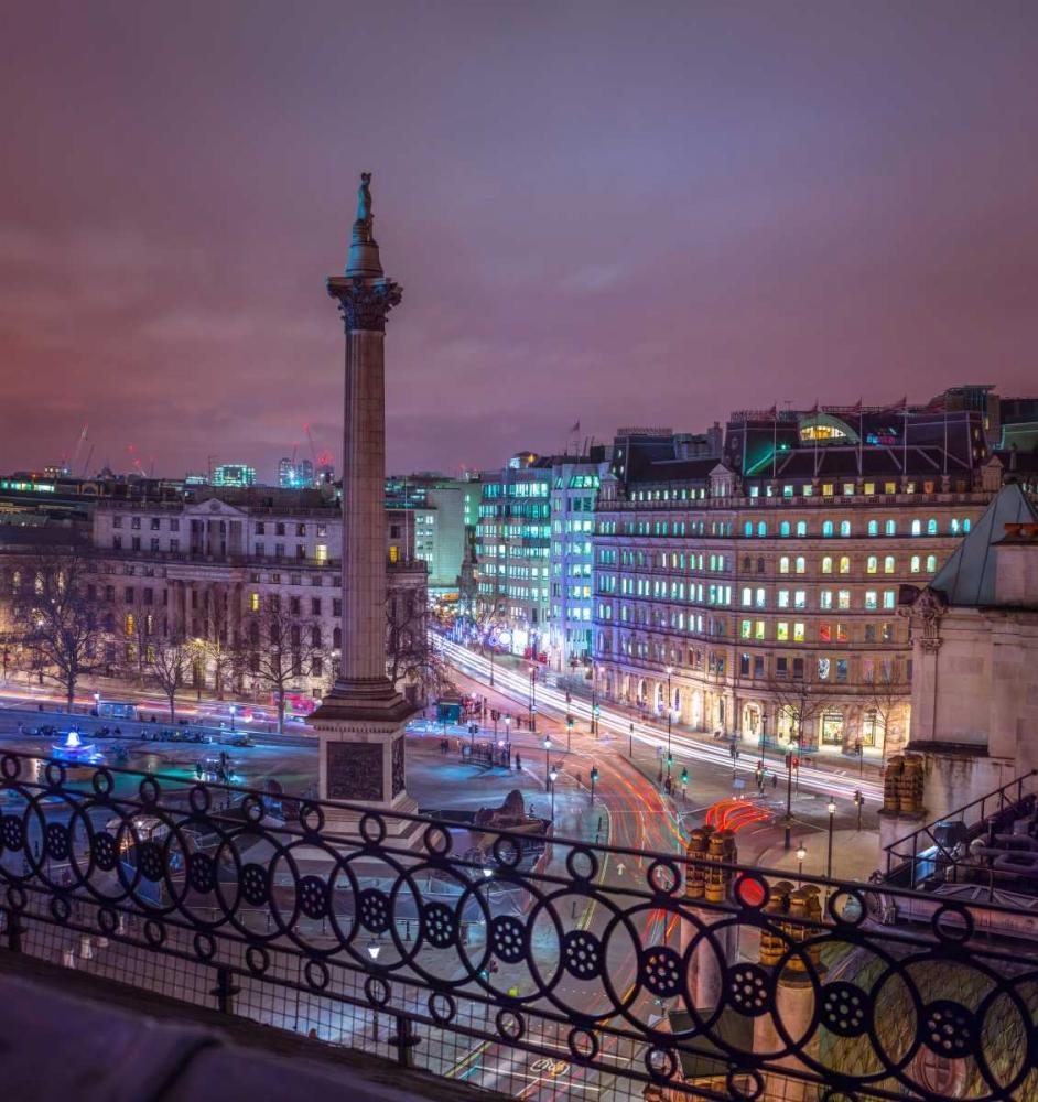 Evening view of Trafalgar Square, London, UK Frank, Assaf 104146