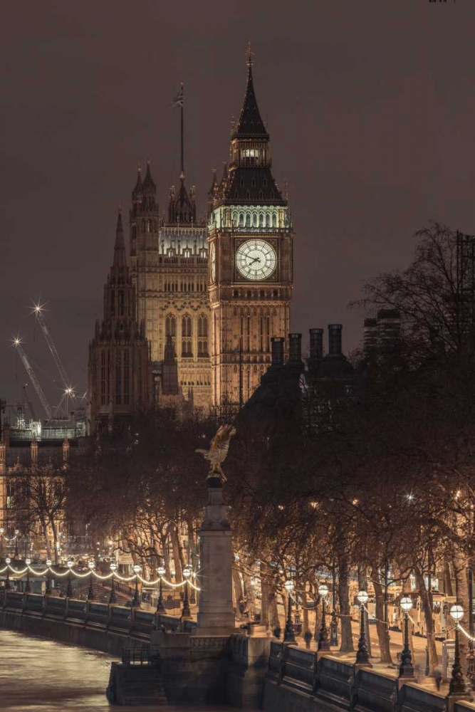 Evening view of Big Ben, London, UK Frank, Assaf 104150