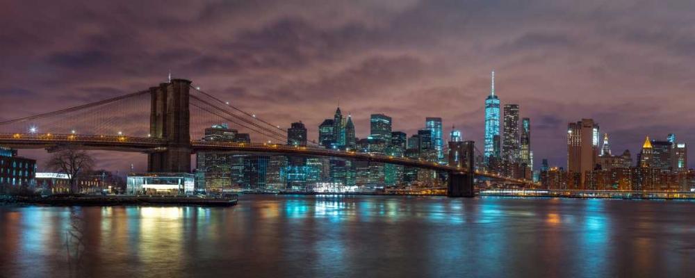 Brooklyn Bridge and Manhattan skyline, New York Frank, Assaf 104199
