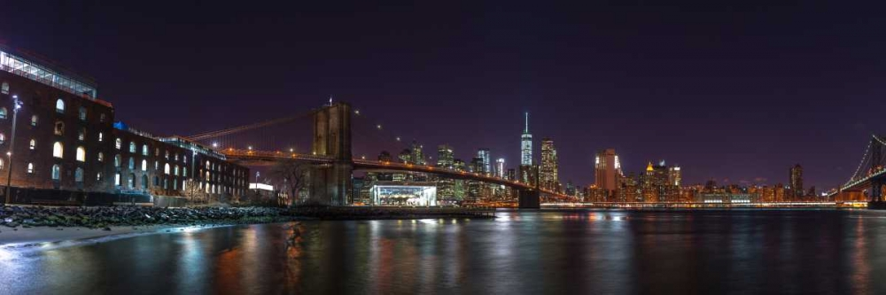 Brooklyn bridge and Lower Manhattan skyline, New York Frank, Assaf 104250
