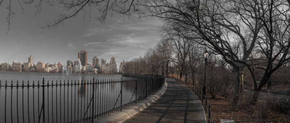 Lower Manhattan cityscape from Central park, New York Frank, Assaf 104292