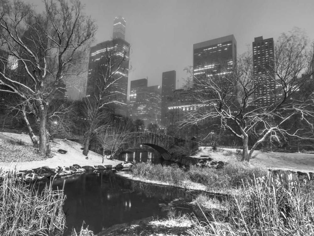 Gapstow Bridge, Central park with Manhattan skyline, New York Frank, Assaf 158640