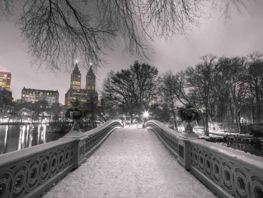 Central park Bow Bridge with Manhattan skyline, New York Frank, Assaf 158646