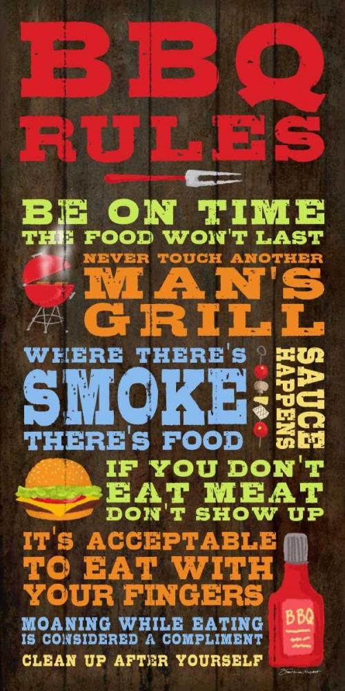 BBQ Rules Marrott, Stephanie 106063
