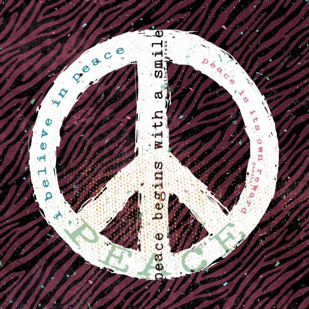 Peace Smile Zebra Marrott, Stephanie 70725