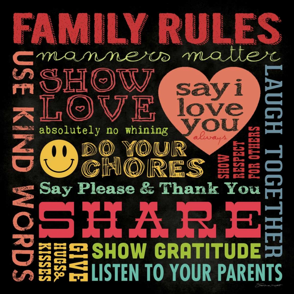 Family Rules I Marrott, Stephanie 106103
