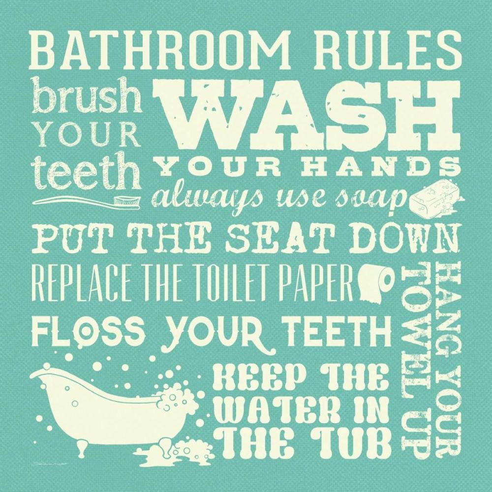 Bath Rules - Green Marrott, Stephanie 70740