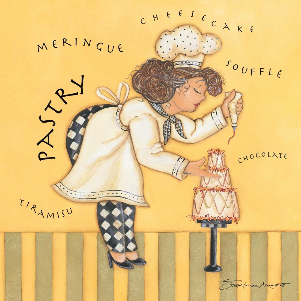 Pastry Chef Marrott, Stephanie 70984