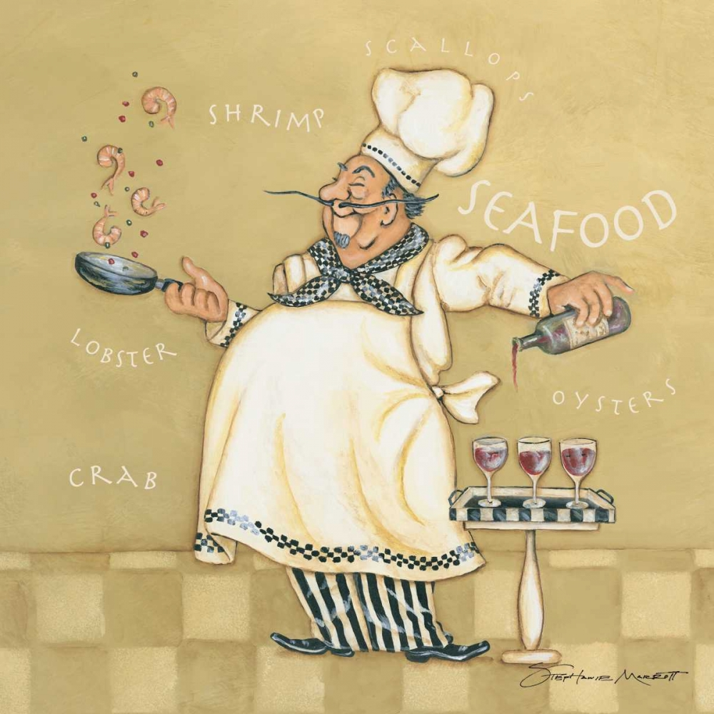 Seafood Chef Marrott, Stephanie 70985