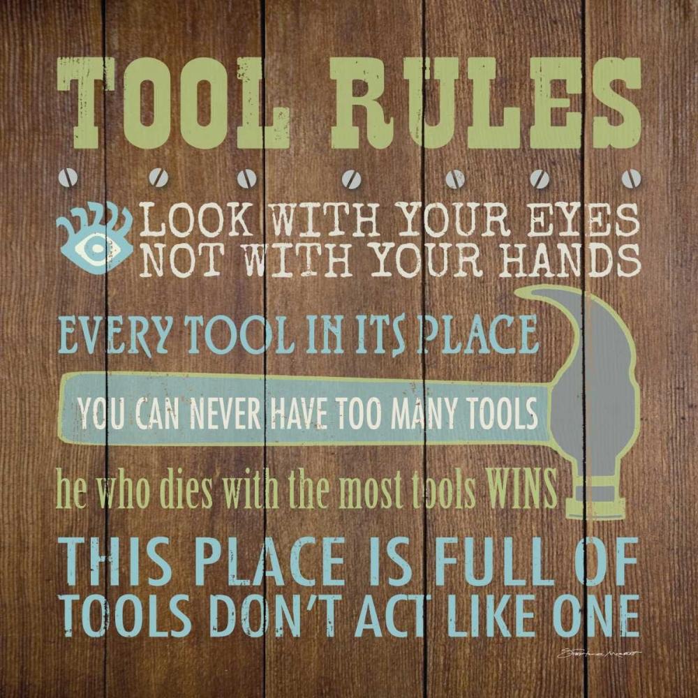 Tool Rules III Marrott, Stephanie 70394