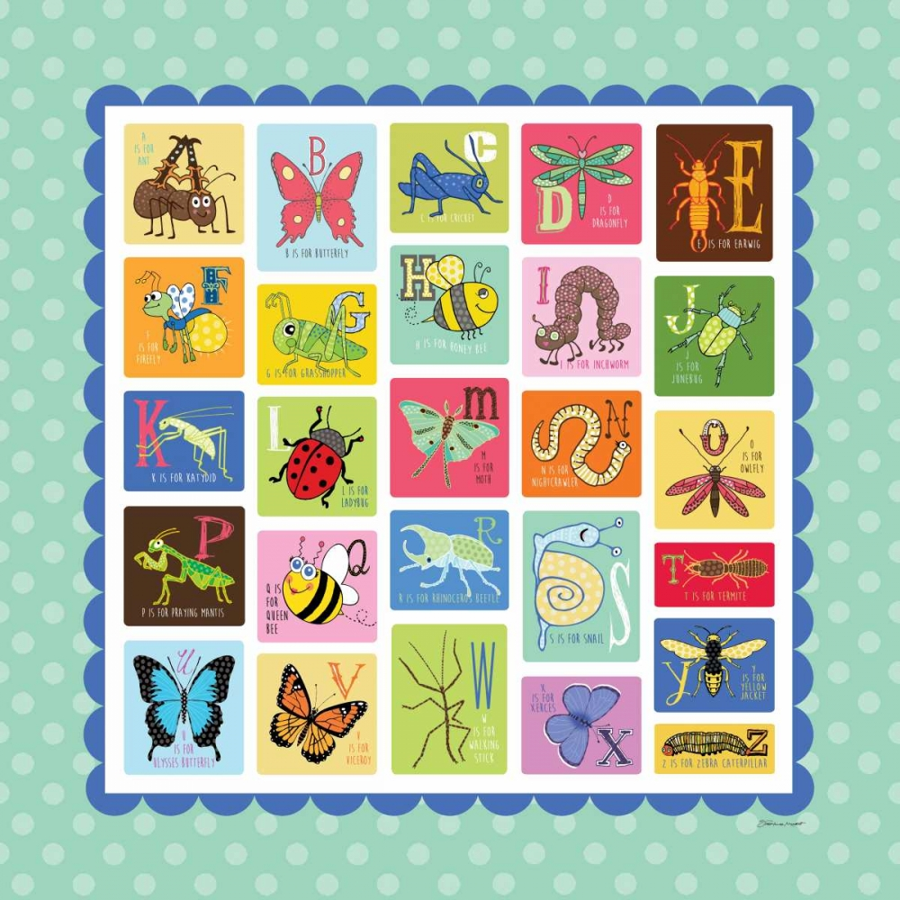 Bug Alphabet Marrott, Stephanie 70506