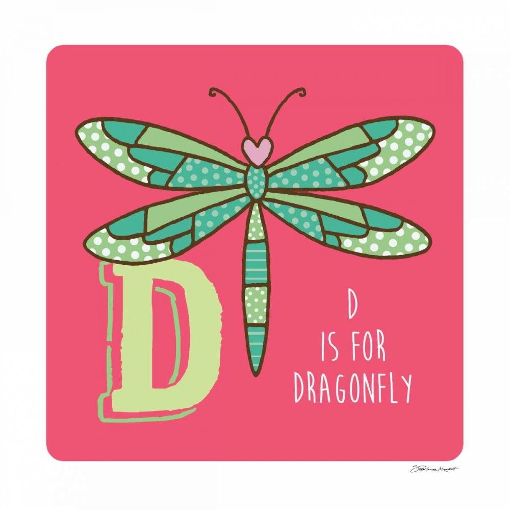 D is For Dragonfly Marrott, Stephanie 70512