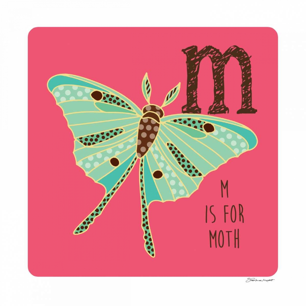 M is For Moth Marrott, Stephanie 70521