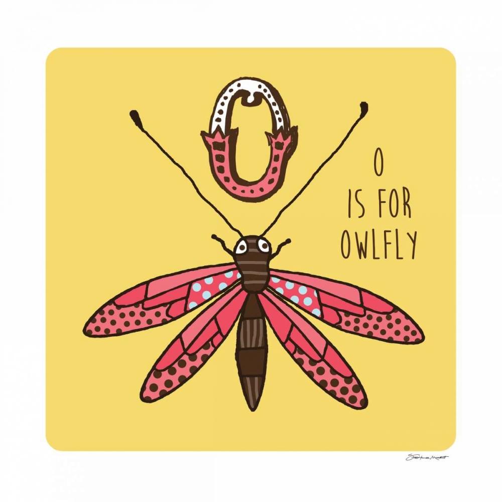 O is For Owl Fly Marrott, Stephanie 70523