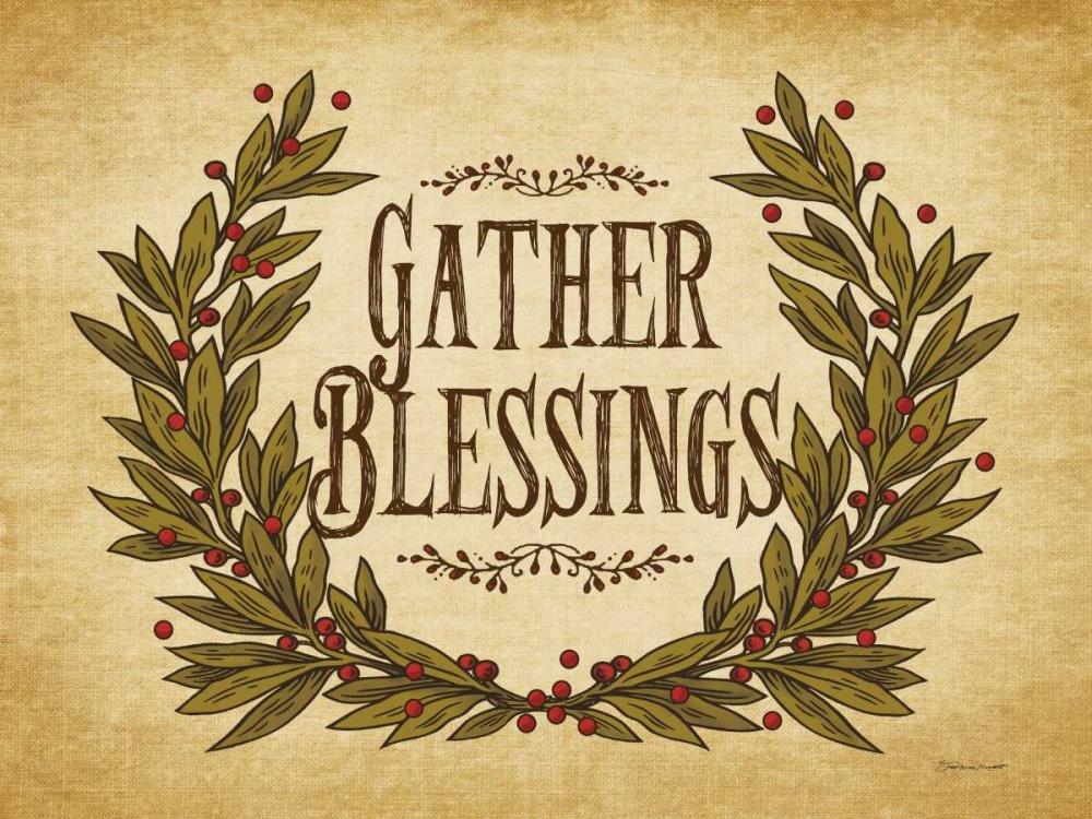 Gather Blessings I Marrott, Stephanie 70551