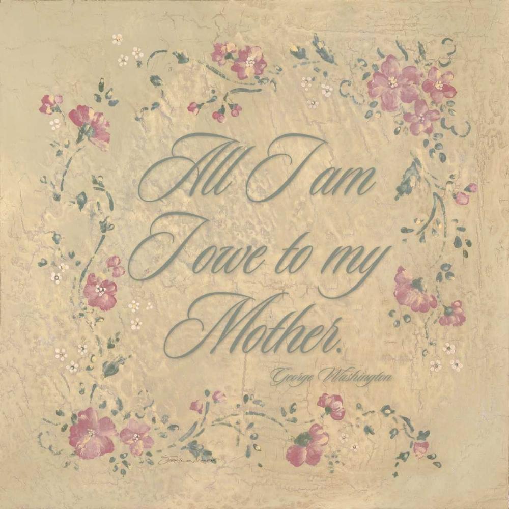 All I am I Owe my Mother Marrott, Stephanie 71040