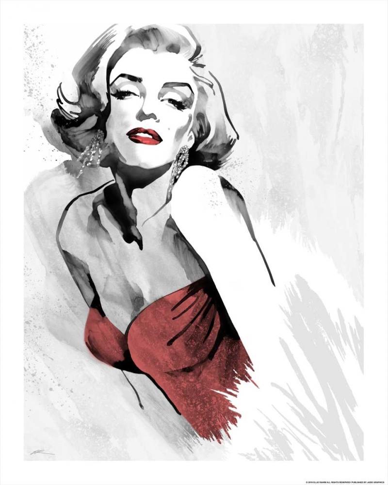 Marilyns Pose Red Dress Rahim, Ellie 137441