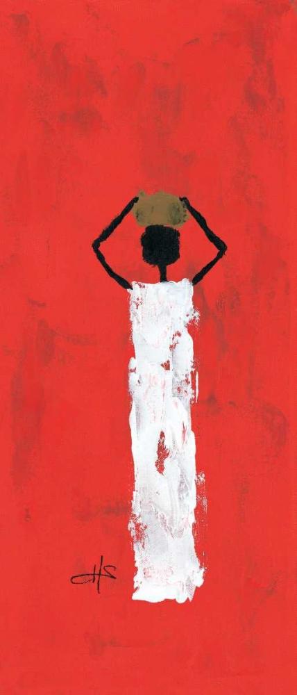 Africa on red 3-3 Schaeffers, Henriette 85323