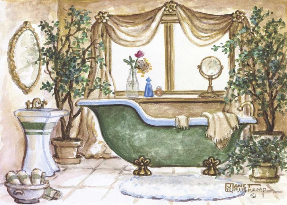 Vintage Bathtub lll Kruskamp, Janet 94175