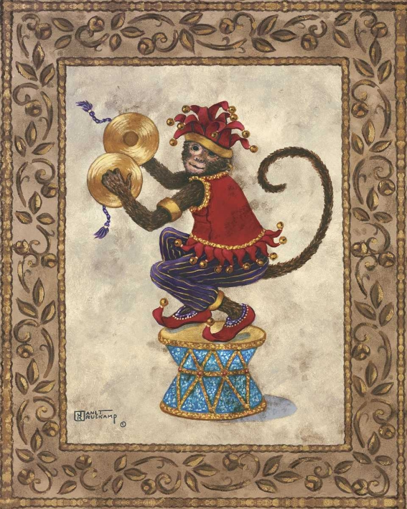 Monkey With Cymbals Kruskamp, Janet 94319