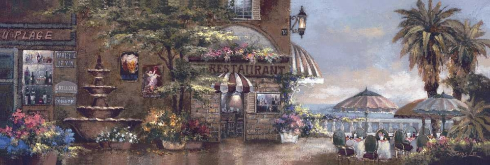 Cafe Walk II Lee, James 94559