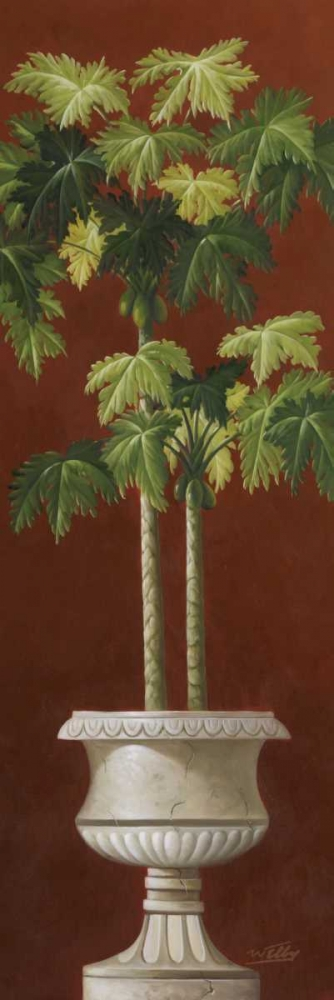 Potted Palm Red I Welby 94644