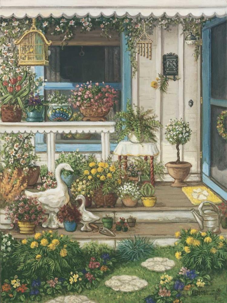 Spring Front Porch Kruskamp, Janet 94667