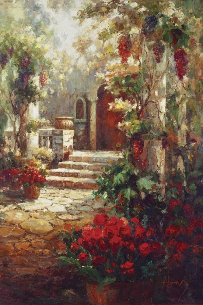 Courtyard Romance Hong 94734