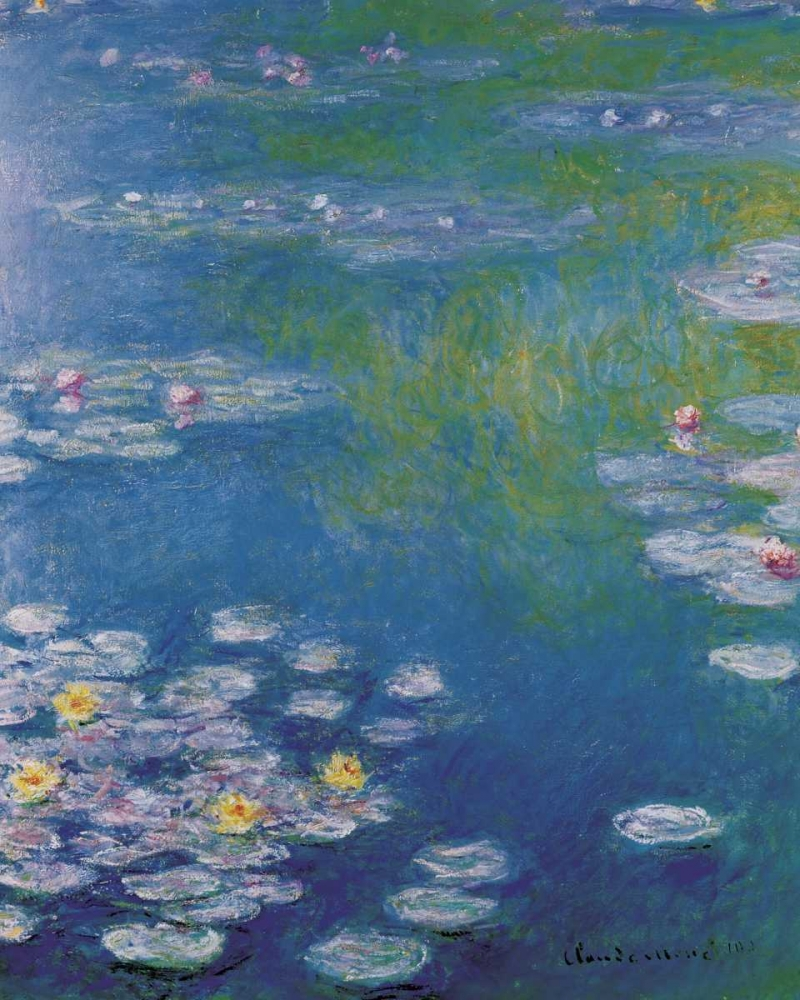 Waterlilies at Giverny Monet, Claude 93610