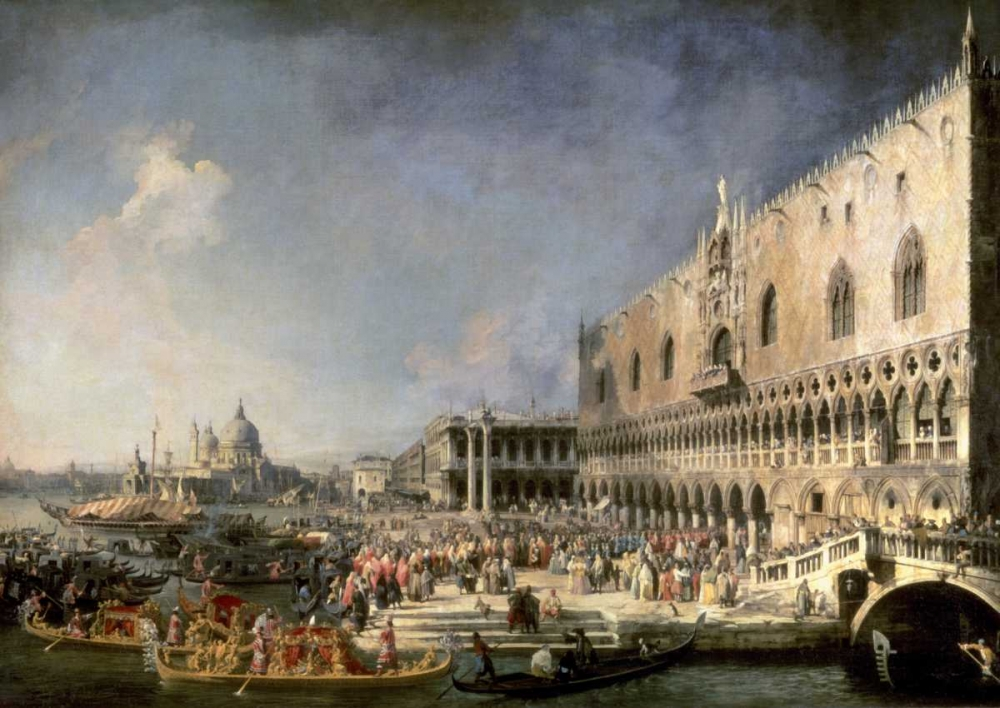 The Reception of the French Ambassador in Venice Canaletto 93554