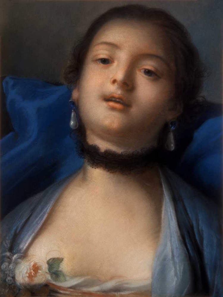 Portrait of a Woman Boucher, Francois 93632