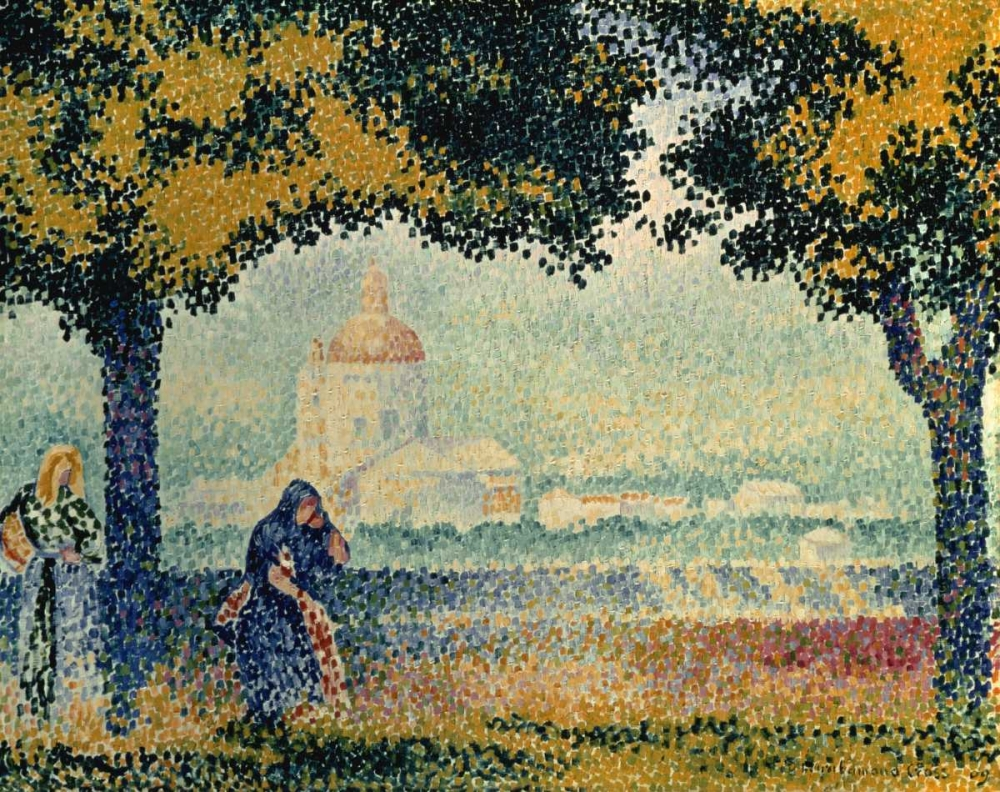 The Church of Santa Maria degli Angely near Assisi Cross, Henri Edmond 93659