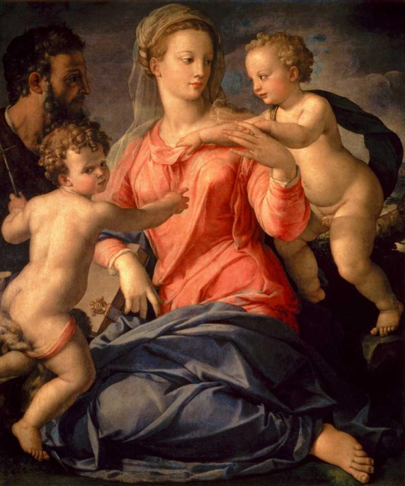The Holy Family Bronzino, Agnolo 93499