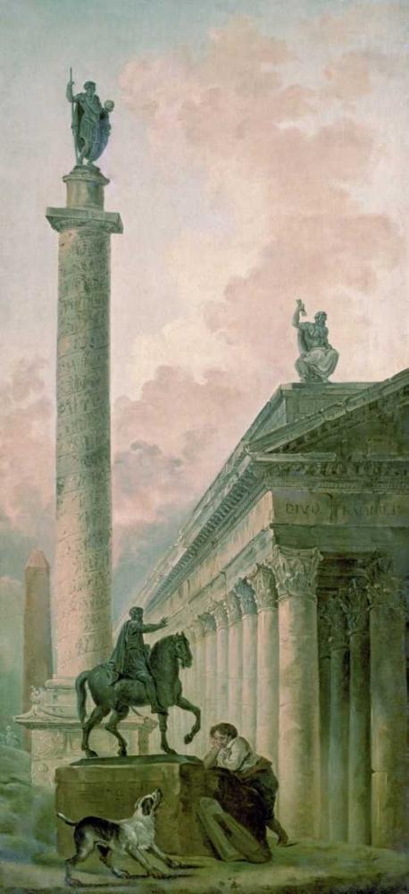 Roman Obelisk Robert, Hubert 93668