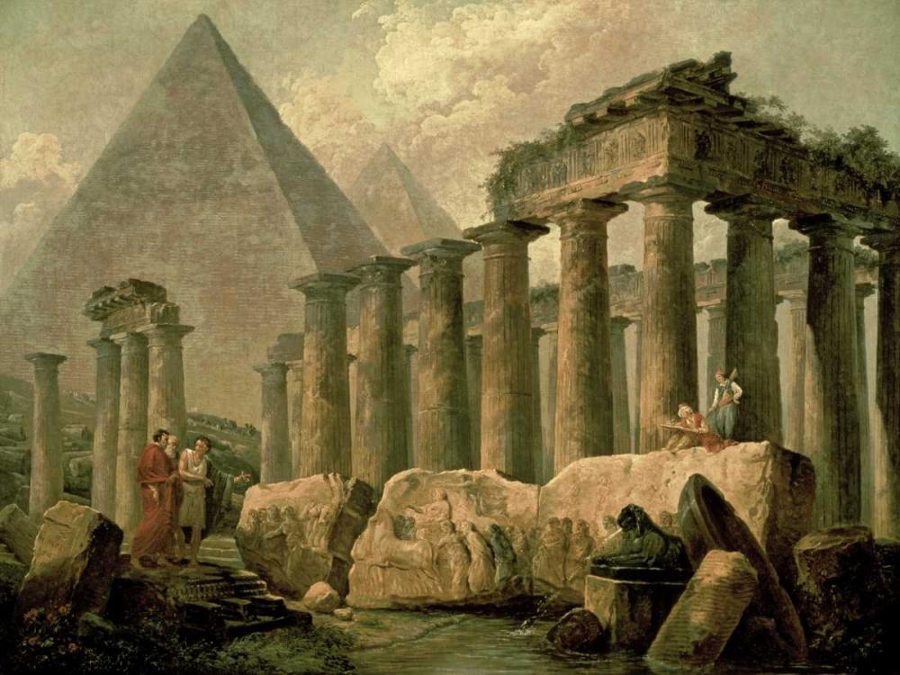 Pyramid and Temples Robert, Hubert 93671