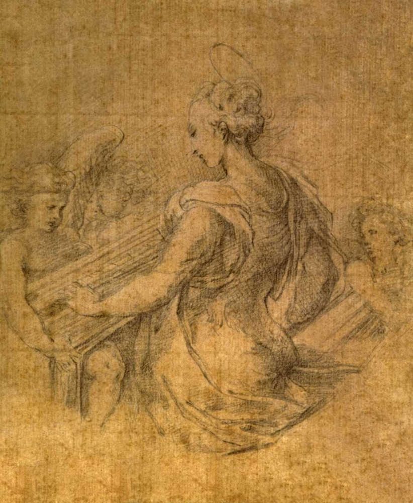 Lady with Angels Parmigianino 93814
