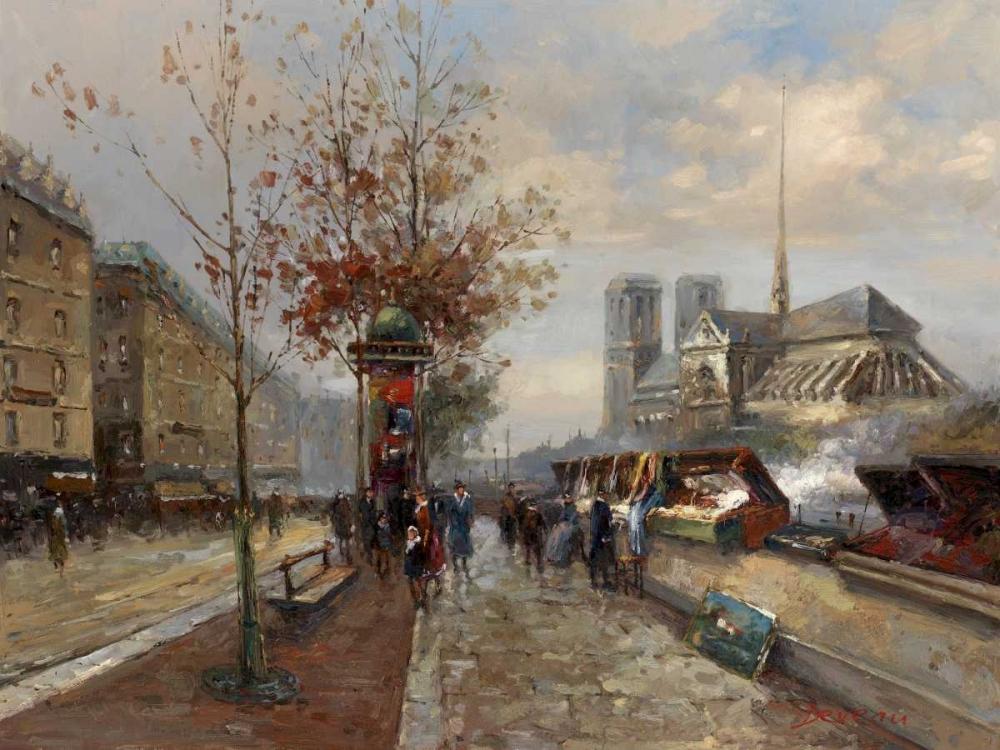 Parisian Outdoor Market Hovely 94933