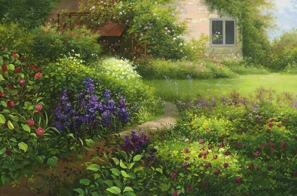 Chalets Flower Garden Corley 94991