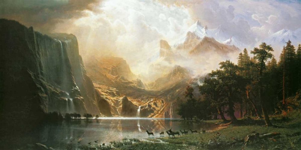Sierra Nevada in California Bierstadt, Albert 93500