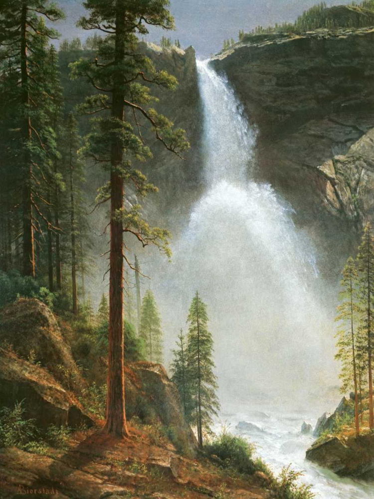 Nevada Falls Bierstadt, Albert 93503