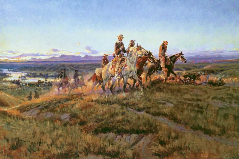 Men of the Open Range Russell, Charles M. 93566