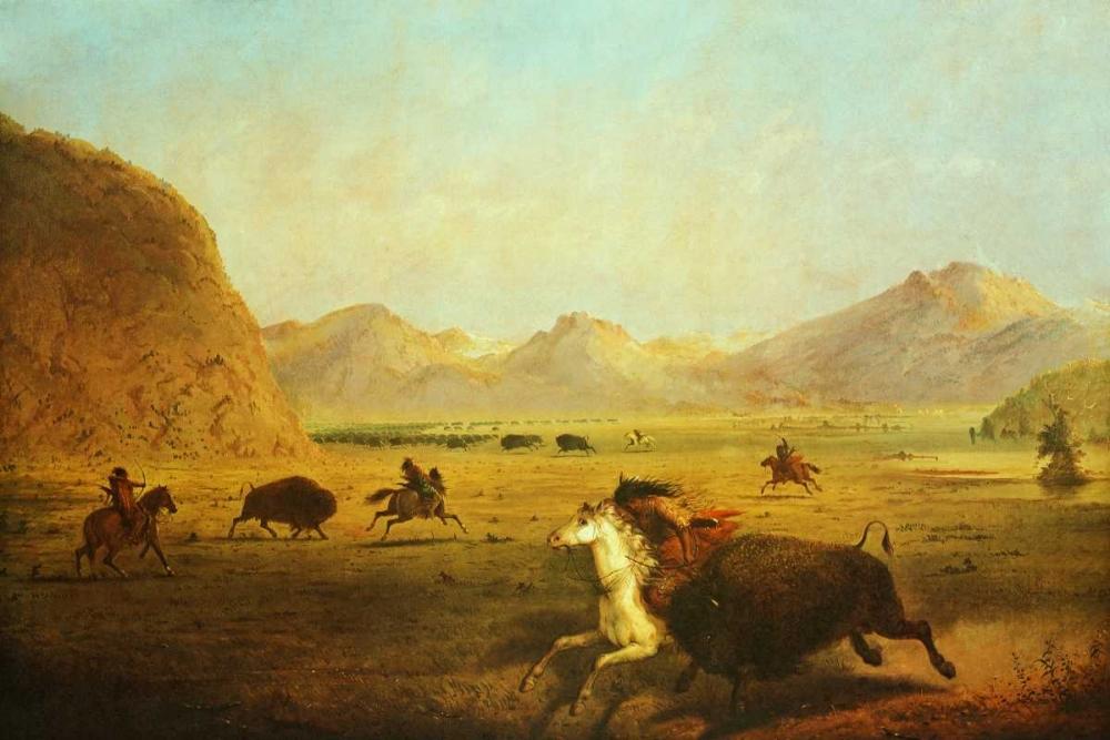 Buffalo Hunt Miller, Alfred J. 93520