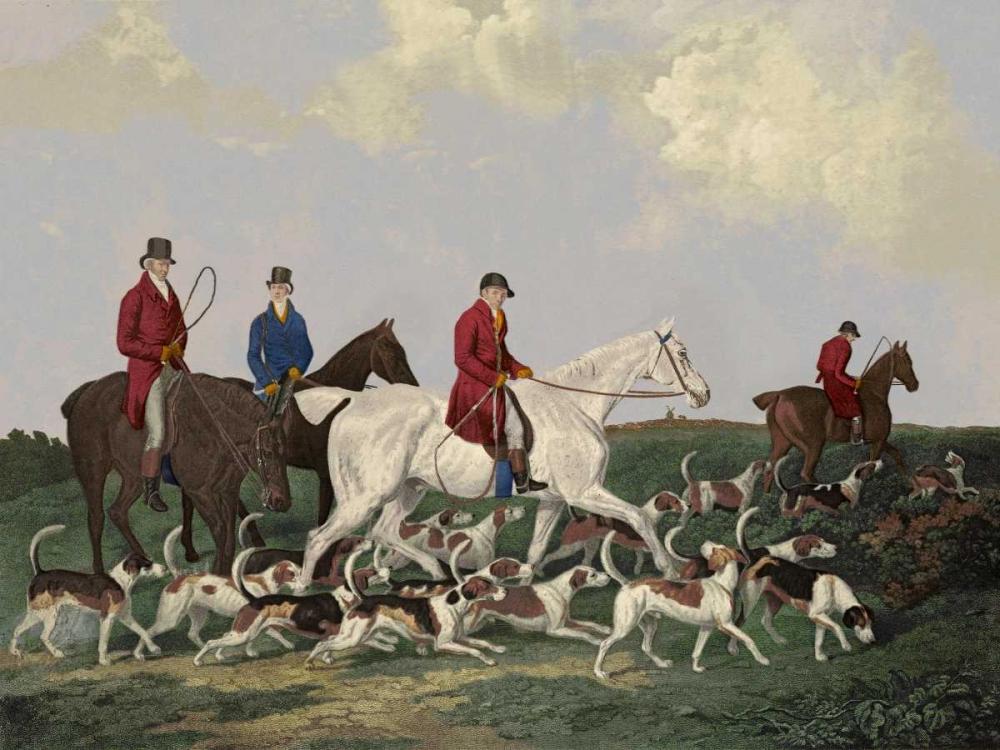 Earl Of Derbys Stag Hounds Barenger 93540